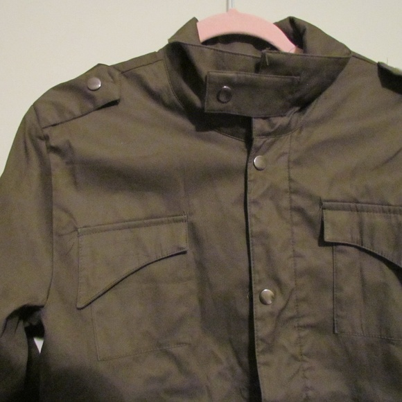 official photos 7cd6a 2bfaa NWOT Reverie Uomo Light-Weight Olive Jacket